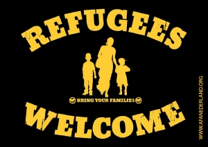 RefugeesWelcomeStickerA7