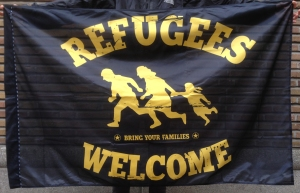 refugeeswelcomevlag