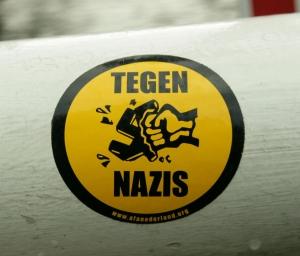 tegennazissticker