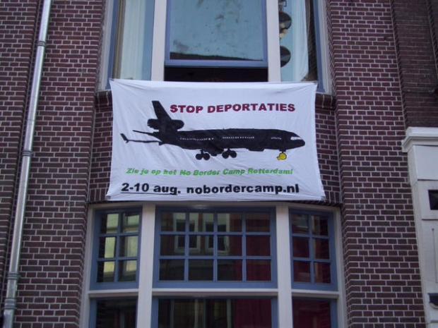 Spandoek in Nijmegen