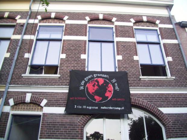 Nog en spandoek in Nijmegen