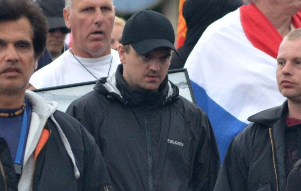 Marcel van Velzen van het internationale neonazi netwerk Blood and Honour