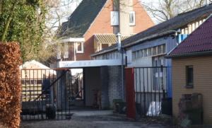 Ingang nazikroeg te Veendam