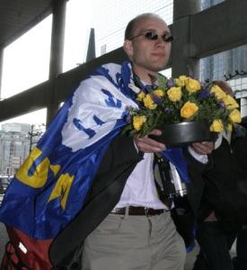 Alexander van Hattem op Fortuyn herdenking in Rotterdam, 2010