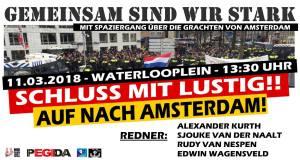 Duitse oproep voor de Pegida demonstratie